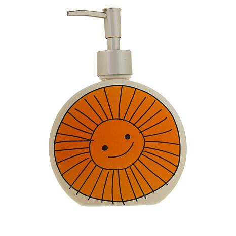 Beekman 1802 Happy Place Sunny - Ceramic Hand Pump Soap Dispenser