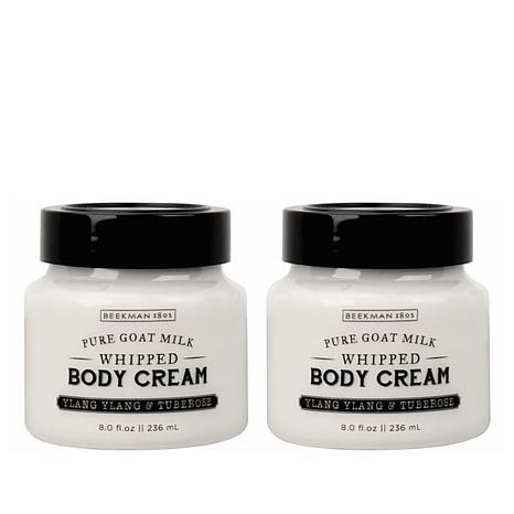 Beekman 1802 Ylang Ylang & Tuberose Whipped Body Cream Duo