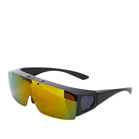 Bell + Howell Flip-Up TacGlasses with Polarized Lenses