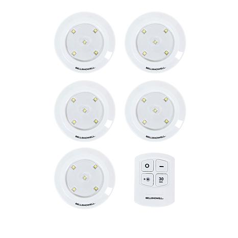 Bell + Howell Set of 5 Remote Controlled Power Pods