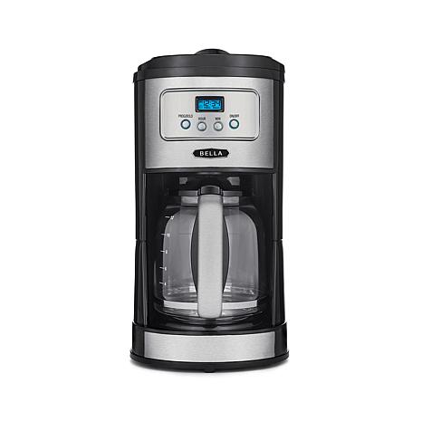Bella 12 Cup Programmable Stainless Steel Coffee Maker