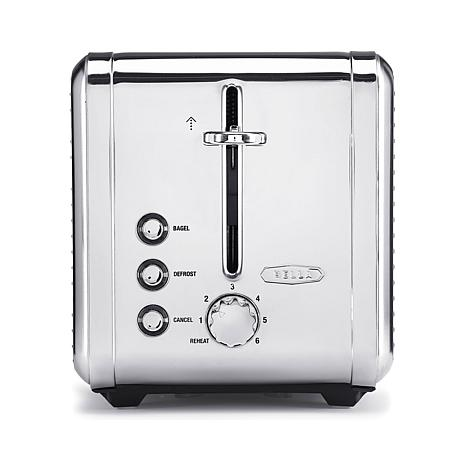 Bella Linea 2-Slice Stainless Steel Toaster