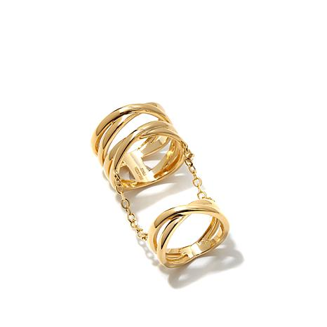 Bellezza Bronze Twist-Design Princess Ring
