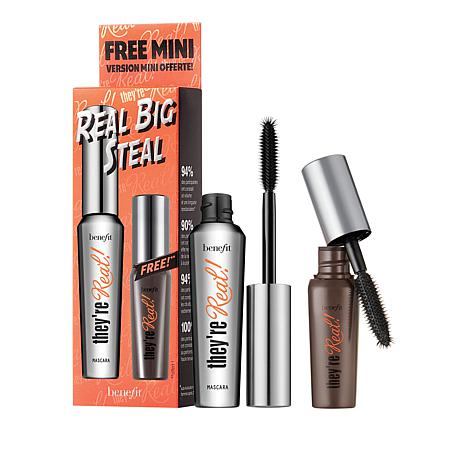 Benefit Cosmetics Real Big Steal Mascara Duo