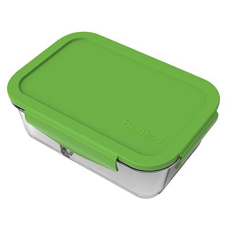 Bentgo 2-Compartment Glass Snack Container