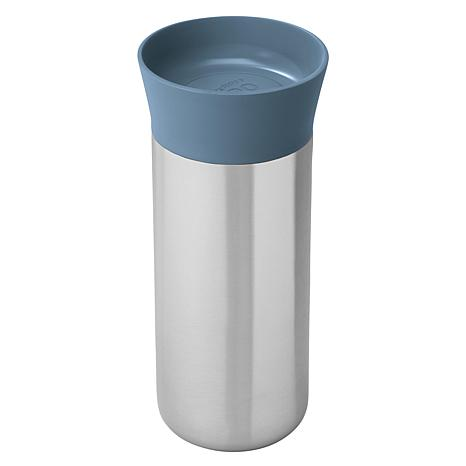 BergHOFF Leo Collection 11 oz. 18-10 Stainless Steel Blue Thermos
