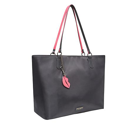 Betsey Johnson Tote with Keychain