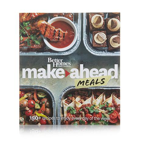 """Better Homes & Gardens Make Ahead Meals"" Cookbook"