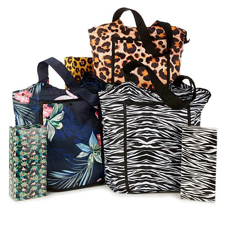 Bettertotes Set Of 3 Insulated Foldable Bags 8836359 Hsn
