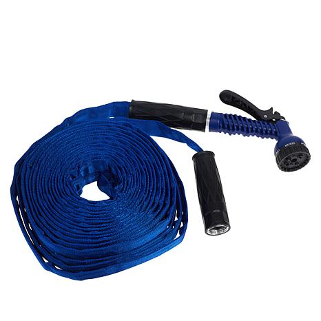 Bionic Force 100' Water Hose with 7-Sprayer Nozzle