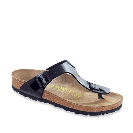 7f988c38dda Birkenstock Gizeh Patent Thong Comfort Sandal - 8342597