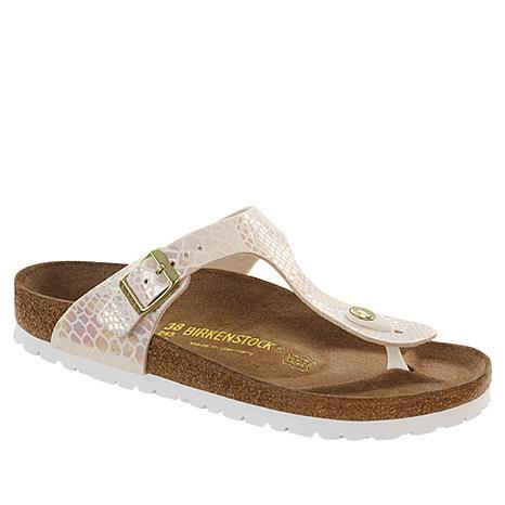 Birkenstock Gizeh Printed Thong Comfort Sandal