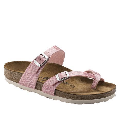 75e36e500ba2f4 Birkenstock Mayari Snake Embossed Toe-Loop Sandal - 8847204