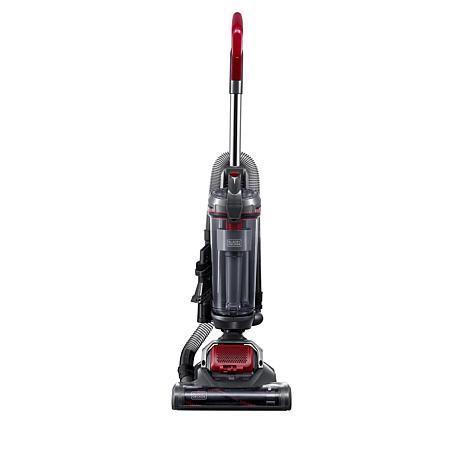 Black+Decker AIRSWIVEL Ultra Lightweight Upright Vacuum, Versatile