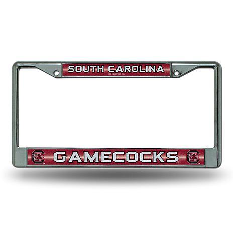 """""""Bling"""" License Plate Frame - USC"""