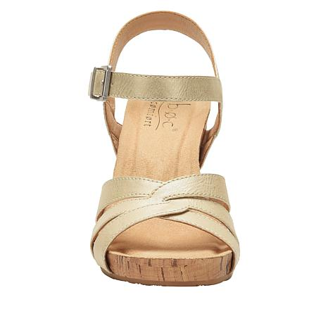 platform sandals cork
