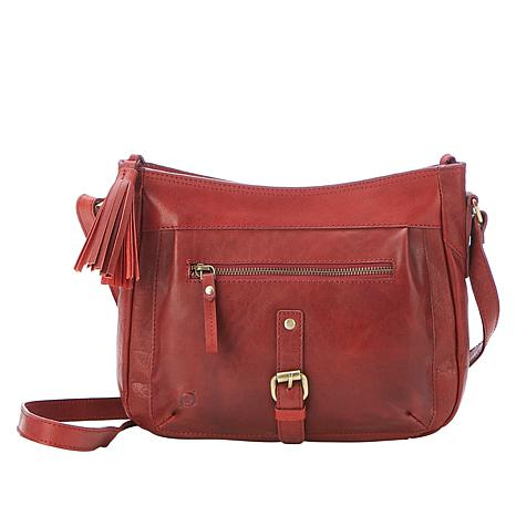 Born® Ryan  Leather Crossbody Bag