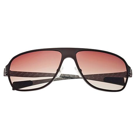 Breed Atmosphere Polarized Sunglasses with Brown Frame and Lenses