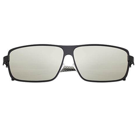 Breed Finlay Polarized Sunglasses with Black Frame and Lenses