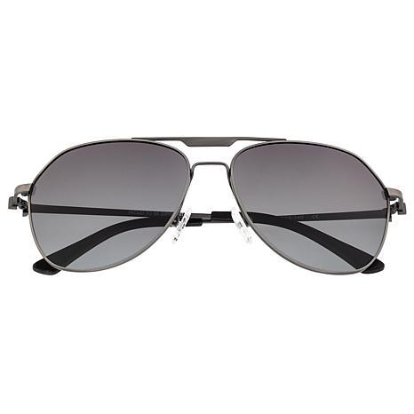 Breed Mount Titanium Polarized Sunglasses Gunmetal Frames Black Lenses