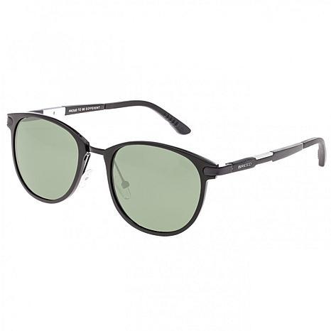 Breed Orion Aluminium Polarized Sunglasses with Black Frame and Lenses