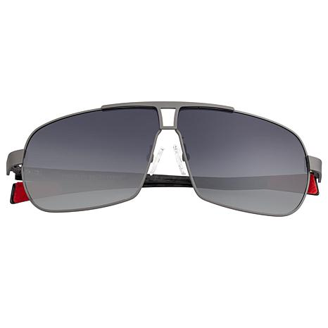 Breed Sagittarius Polarized Sunglasses with Gunmetal Frame
