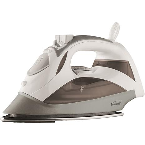 Brentwood Appliances Steam Iron with Auto Shutoff - White