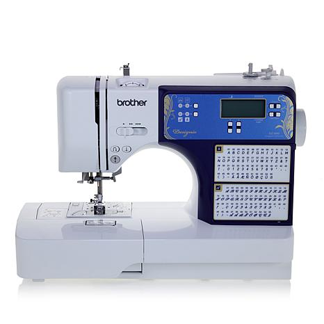 Brother Designio™ 40stitch Computerized Sewing Machine With DVD Classy Computerized Sewing Machine