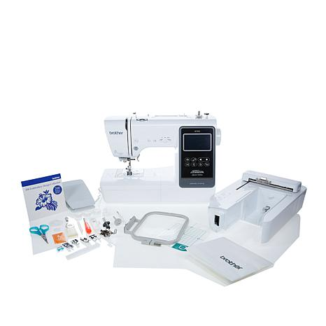 Brother Embroidery And Sewing Machine With Value Bundle 40 HSN Inspiration Brother Embroidery Sewing Machine