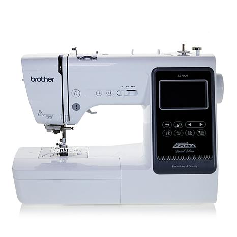 Brother Project Runway Embroidery And Sewing Machine 40 HSN Classy Brother Project Runway Sewing And Embroidery Machine