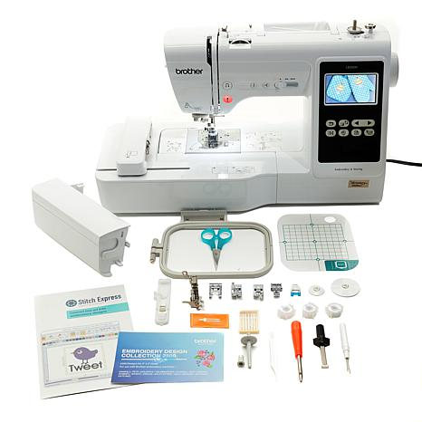 Brother Sewing and Embroidery Machine with Design Pack and Software