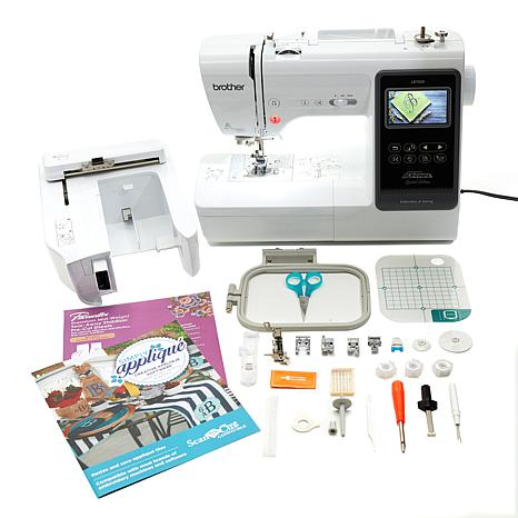 Brother Sewing and Embroidery Machine with Value Add Bundle