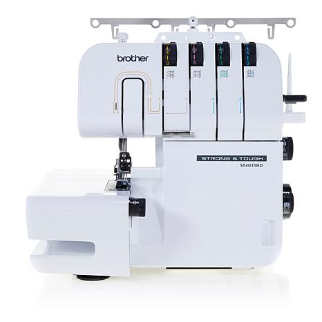 Brother Strong And Tough 4040 Serger With DVD And Soft Cover Beauteous Brother Serger Sewing Machine