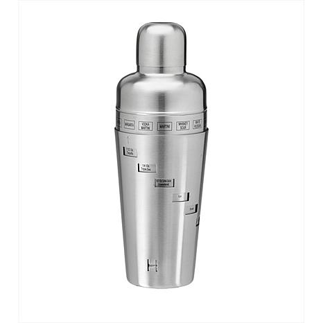 Brushed Stainless Steel 32 oz. Cocktail Shaker