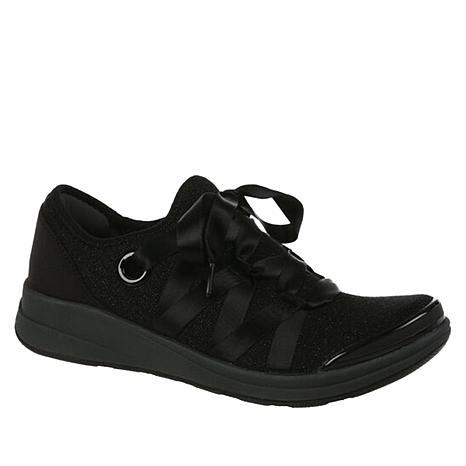 Bzees Inspire Ribbon Lace Stretch Sneaker