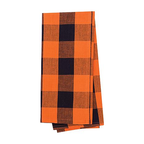 C&F Home Franklin Black-Orange Towel S-3
