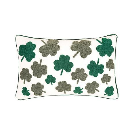 C&F Home Irish Clover Pillow