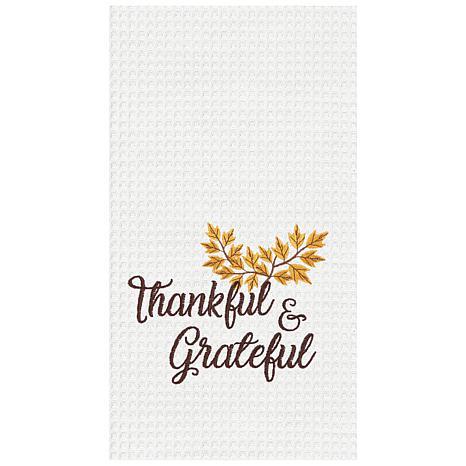 C&F Home Thankful & Grateful Towel Set of 2