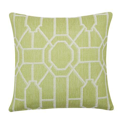 C&F Home Trellis Peridot Woven Pillow