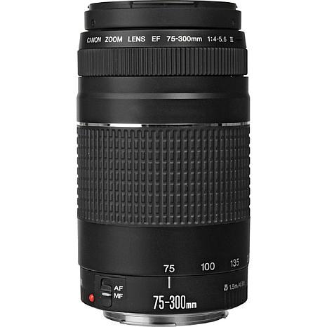 Canon EF 75-300MM F/4-5.6 III AF Lens