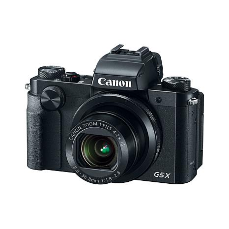 Canon PowerShot G5 X 20.2MP 4.2X Optical Zoom Camera with Software