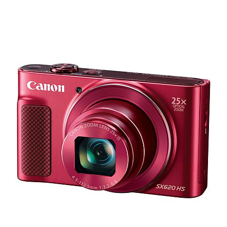 Canon PowerShot SX620 HS 20.2MP, Full HD 25X Zoom Camera w/16GB Card