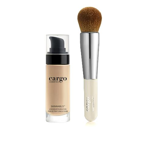 Cargo Cosmetics 01 Swimmables Longwear Foundation with Brush