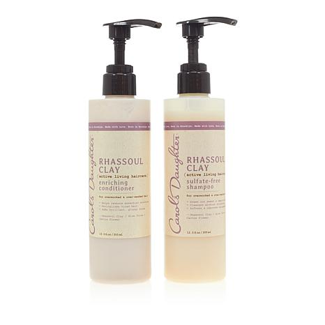 Carol's Daughter Rhassoul Clay Shampoo and Conditioner
