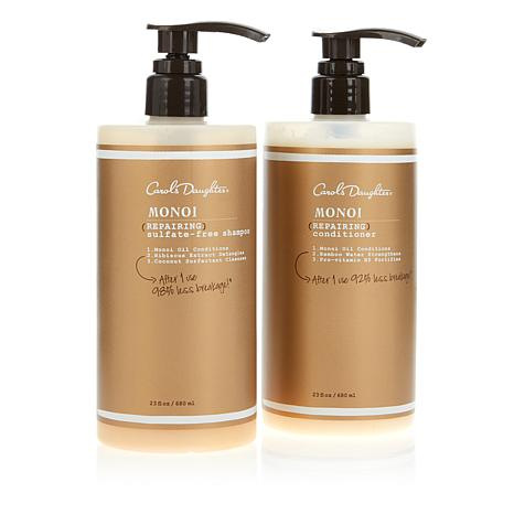 Carol's Daughter Supersize Monoi Shampoo & Conditioner