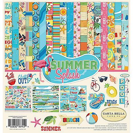 "Carta Bella Collection Kit 12"" x 12"" - Summer Splash"