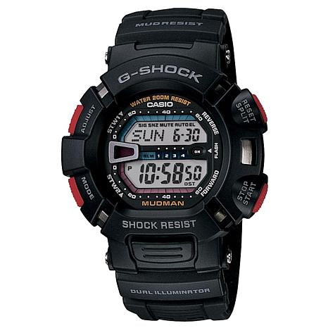 Casio Men's G-Shock Mudman G9000 Black Watch