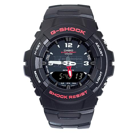 Casio Men's G-Shock Red Detail Analog-Digital Watch