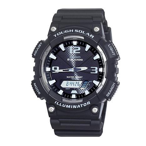 Casio Men's Tough Solar Black Sport Watch
