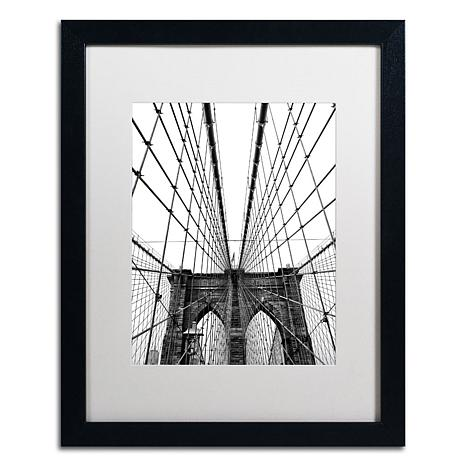 "CATeyes ""Brooklyn Bridge 3"" Framed Art"
